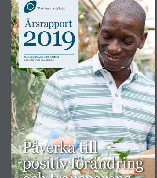 Etikrådets årsrapport 2019